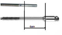 Difference between normal swage and extra long swageless