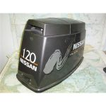 NISSAN PLUS 120 HP OUTBOARD MOTOR COWL
