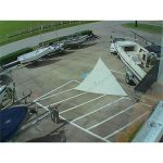 Catalina 22 Hank On Jib w Luff 22-8 from Boaters Resale Shop of TX 1610 0772.89