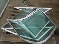 Complete Boat Windshield