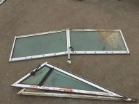 Windshield for a 1983 22' Gradywhite