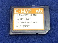 C-MAP NA-M320 Passamaquoddy Bay To Cape Lookout NT MAX SD Chart Card 2007