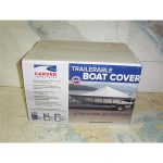1907 2744.01 CARVER 71113P GRAY 17.5 FT BOAT COVER